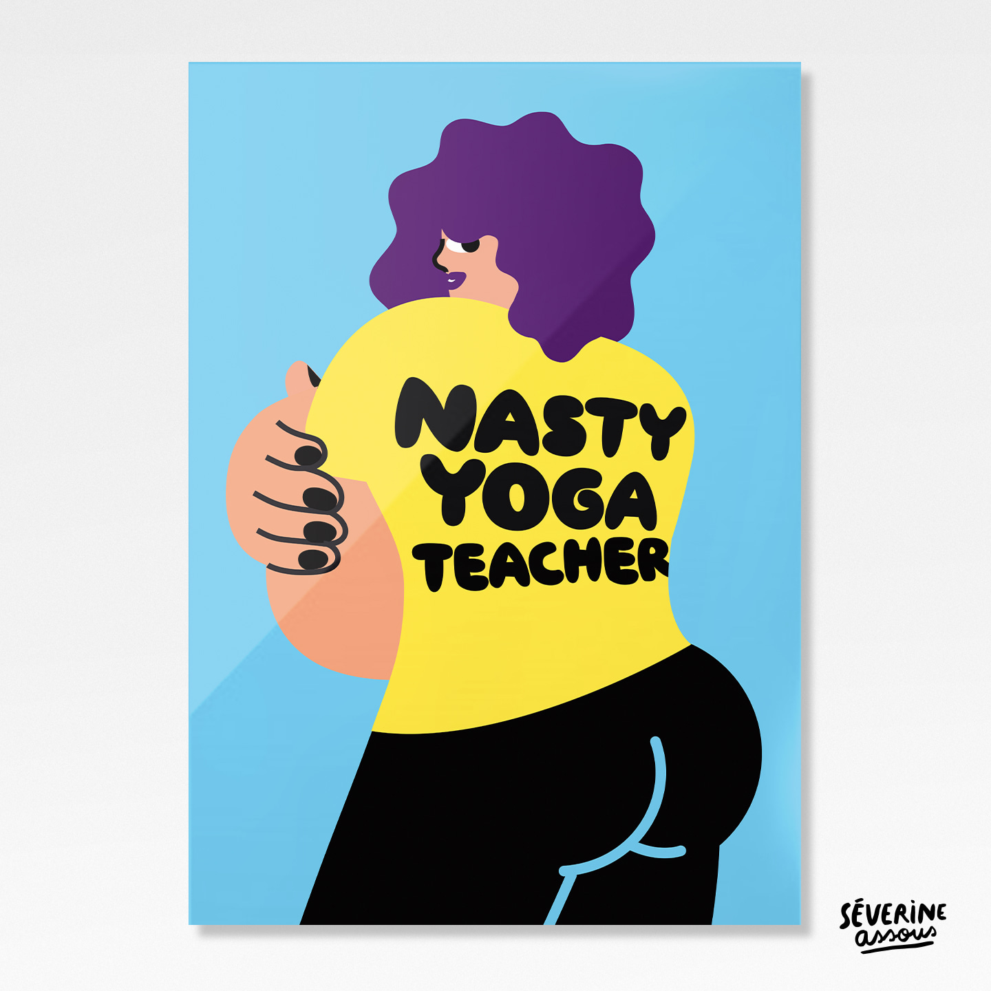 Nasty Yoga Teacher