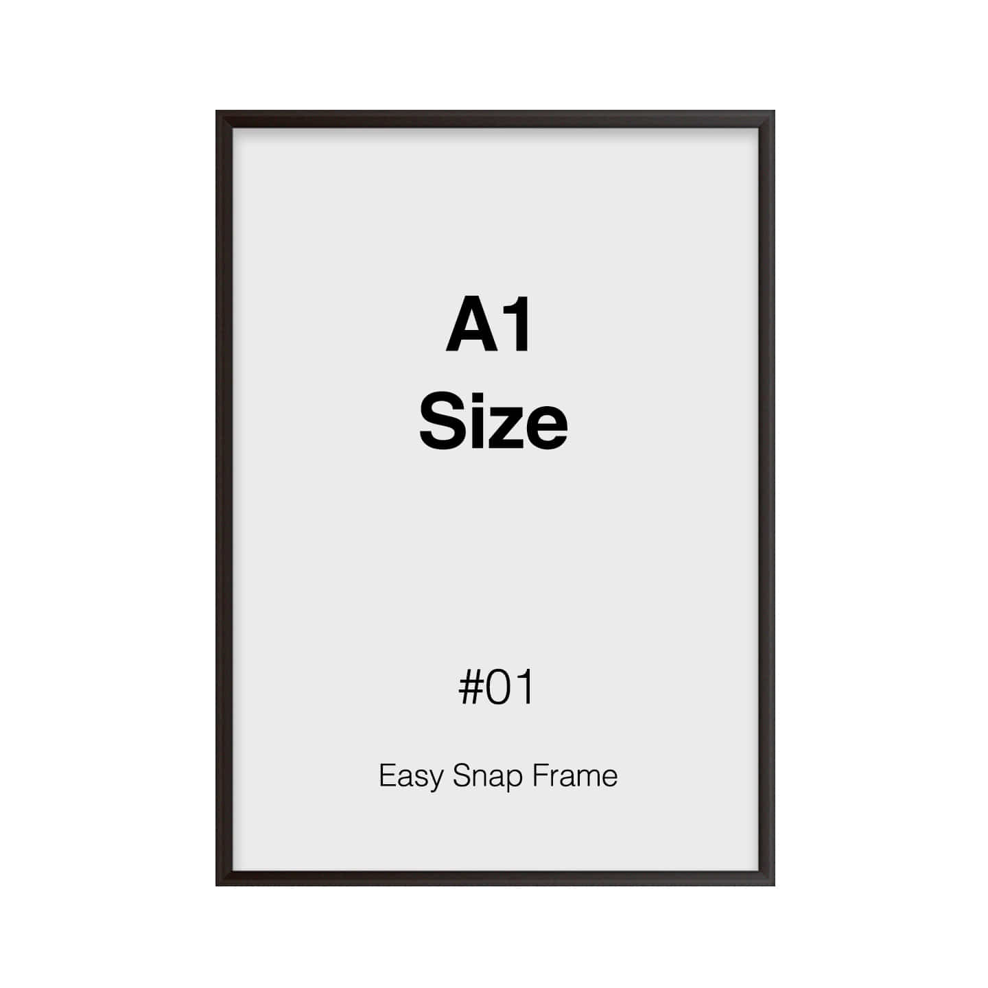 A1 Size Frame 01 - (Front Side Open)