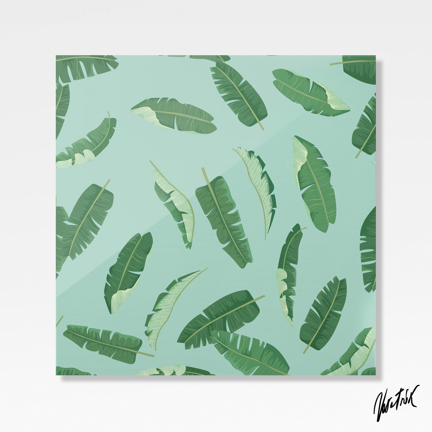 Banana Leaves Pattern 4