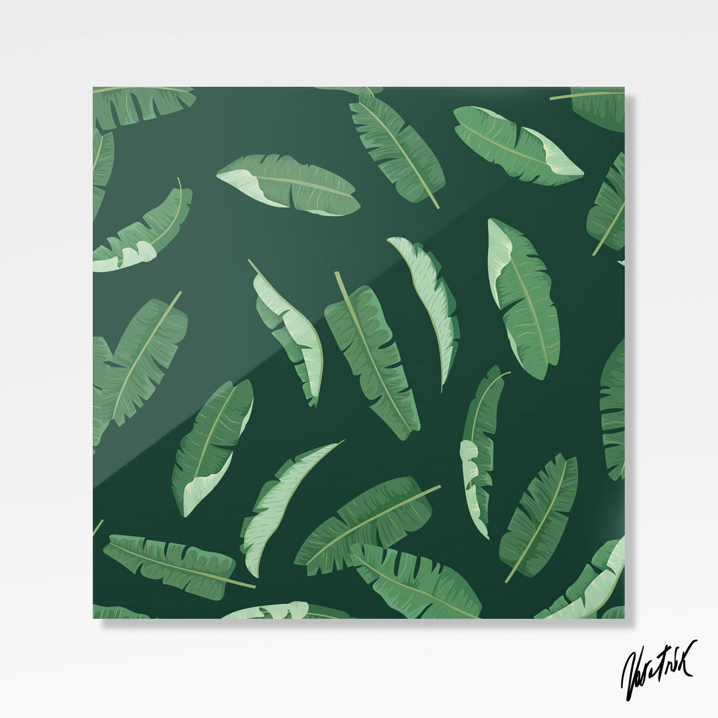 Banana Leaves Pattern 3