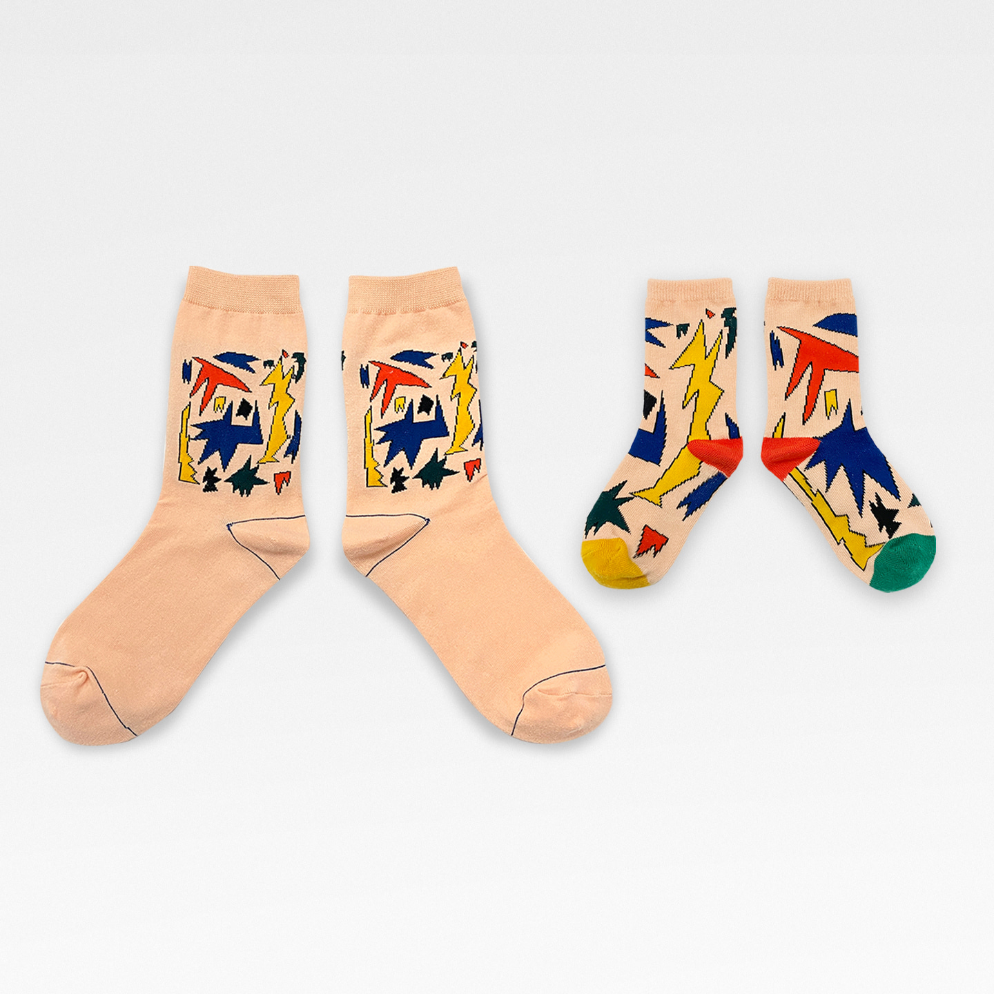 Family Set Socks (Adult+Kids) - My Ears Are Ringing